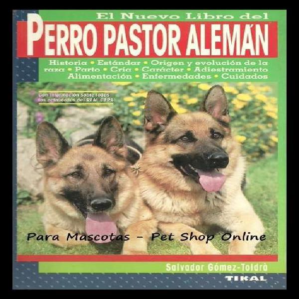 El nuevo libro del perro pastor aleman. edicion española en