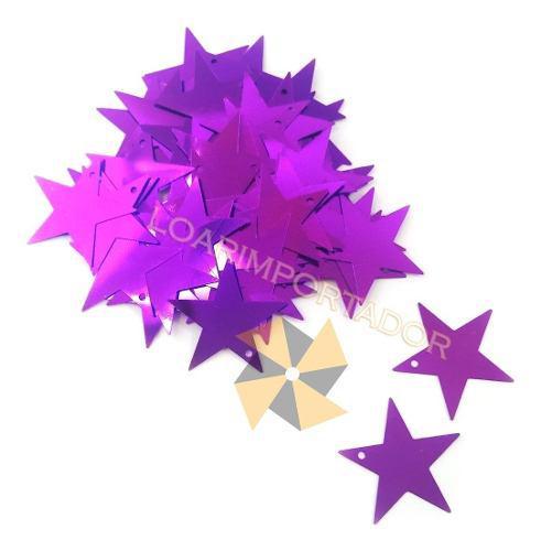 Estrellas planas deco souvenir candy bar hadas x100u