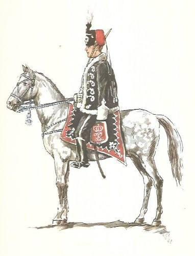Iconografía militar: uniformes alemanes (láminas) soldados