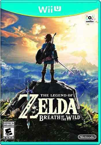 Juegos digitales wii u zelda breath of wild + pack oferta!