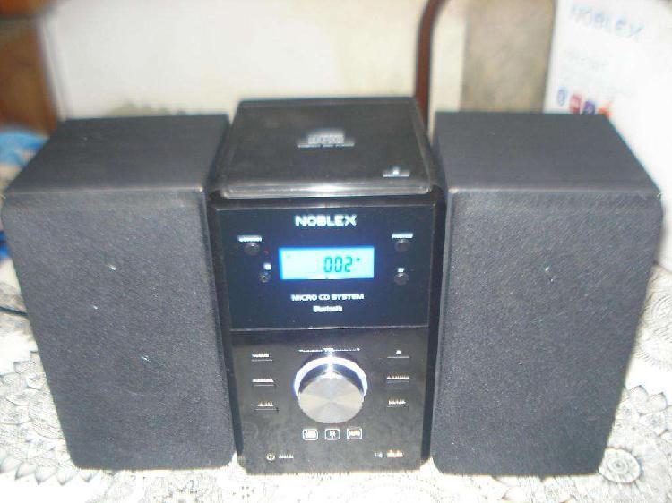 Noblex mm43bt minicomponente 400w cd mp3 usb leer no envio