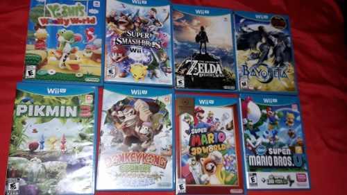 Oportunidad!! lote juegos originales wii u