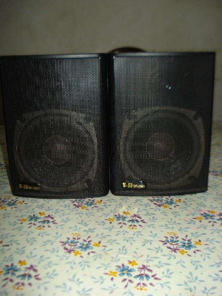 Parlantes bafles b52sf350 musica funcional excelente sonido