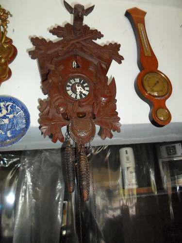Reloj cucu antiguo