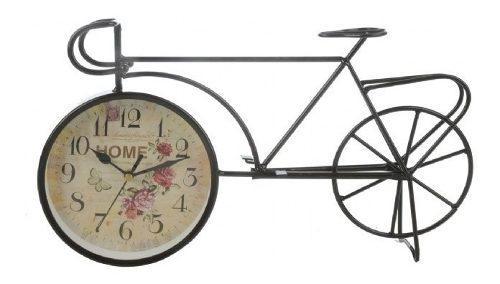 Reloj de mesa escritorio forma de bicicleta antigua 25% off