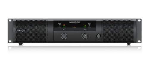 Amplificador de potencia behringer nx3000