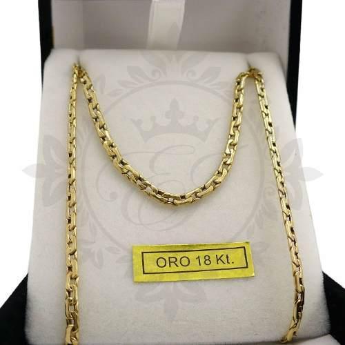 Cadenas Oro 18k Hombre O Mujer Paris 4 Grs 50 Cm Regalo