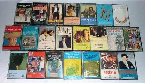 Cassettes de audio - originales - impecables - vintage