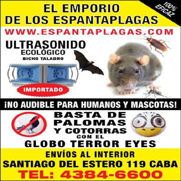 Espanta ratas ultrasonico ecologico en balvanera