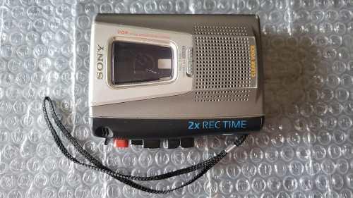 Grabador de voz sony tcm 20 dv/ 2 vel cassette funciona