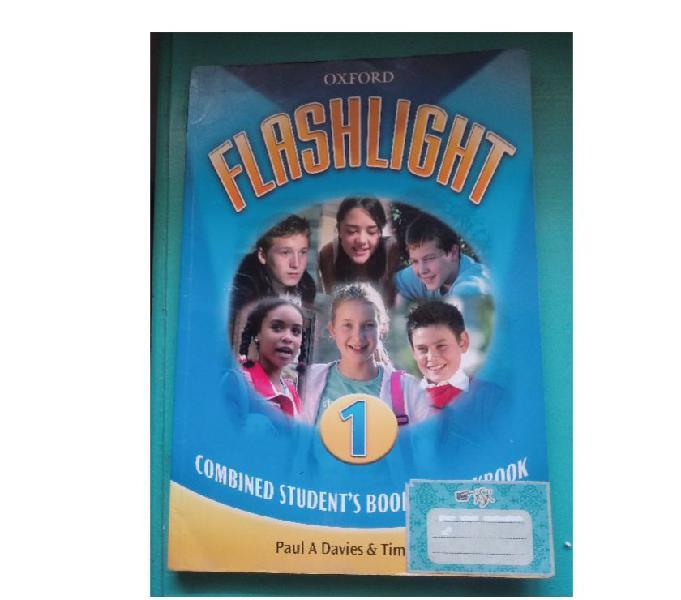 Libro de inglés 1 Flashlight - Oxford
