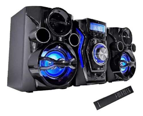 Minicomponente equipo de musica bluetooth usb cd mp3 con