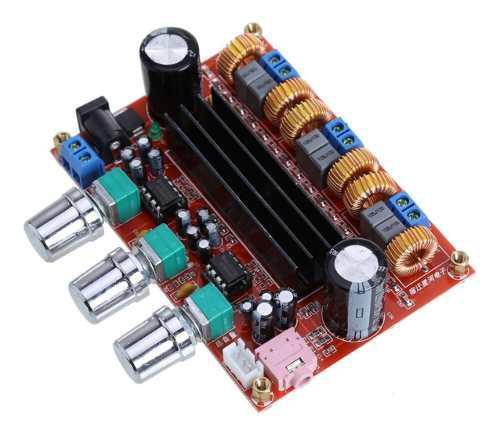 Modulo amplificador audio 2.1 - 2x50w + 1x100w tpa3116d2