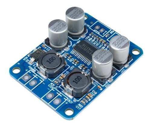 Modulo amplificador audio mono 60w clase d tpa3118 tecnopedi
