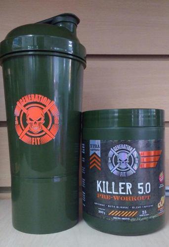 Pre Entreno Killer 5.0 + Shaker