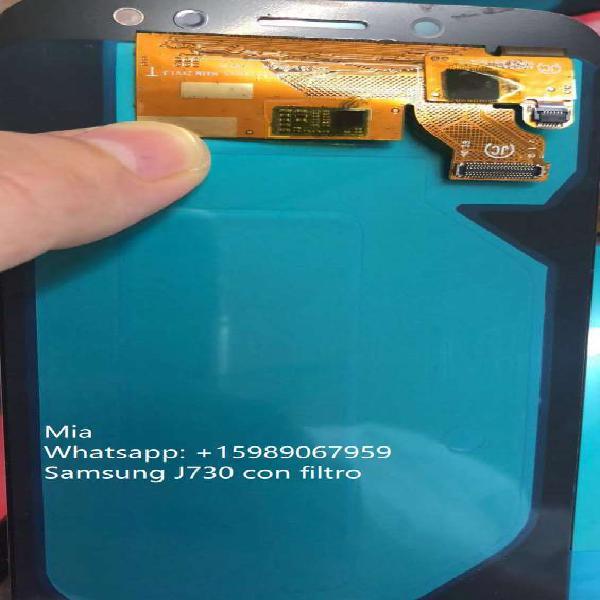 Repuesto para celulares pantalla samsung j730/j7 pro con