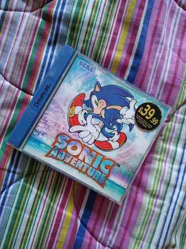 Sonic Adventure Dreamcast Europeo (españa)