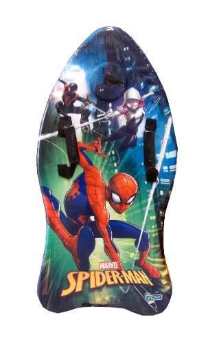 Spiderman Tabla Barrenadora Bodyboard Surf 37 Orig. Ditoys