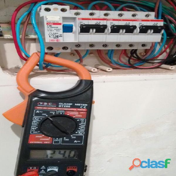 Electricista Matriculado servicios generales consulte! 5