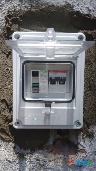 Electricista Matriculado servicios generales consulte! 4