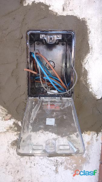 Electricista Matriculado servicios generales consulte! 3