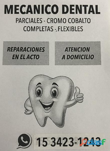 Mecánico dental. capital federal 15 3423 1243