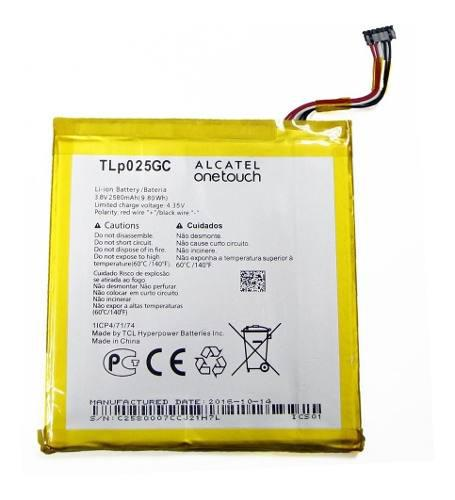 Batería tlp025gc alcatel one touch pixi 4, 7,8063 - 2580mah
