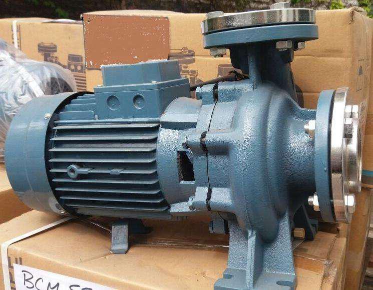 Bombas de agua centrifugas 5,5hp