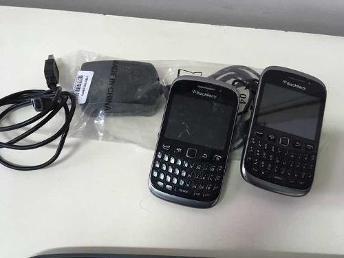 Dos celulares blackberry curve sin baterías palermo ramos