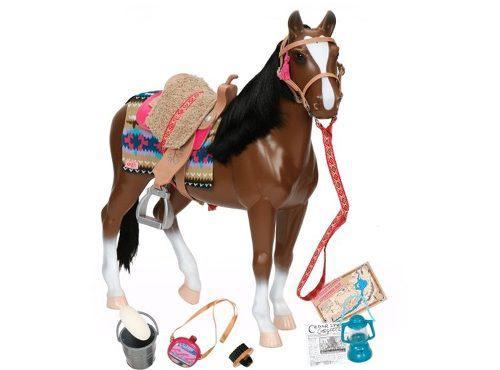 Our generation caballo p/muñeca chico 25cm. intek