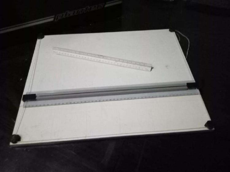 Tablero de dibujo plan-tec 60 x 50 con paralela schmitten