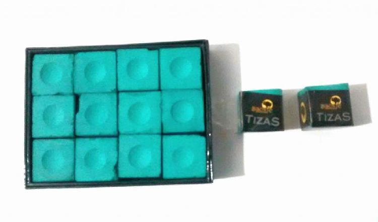 Tiza de pool x caja de 12 bisonte