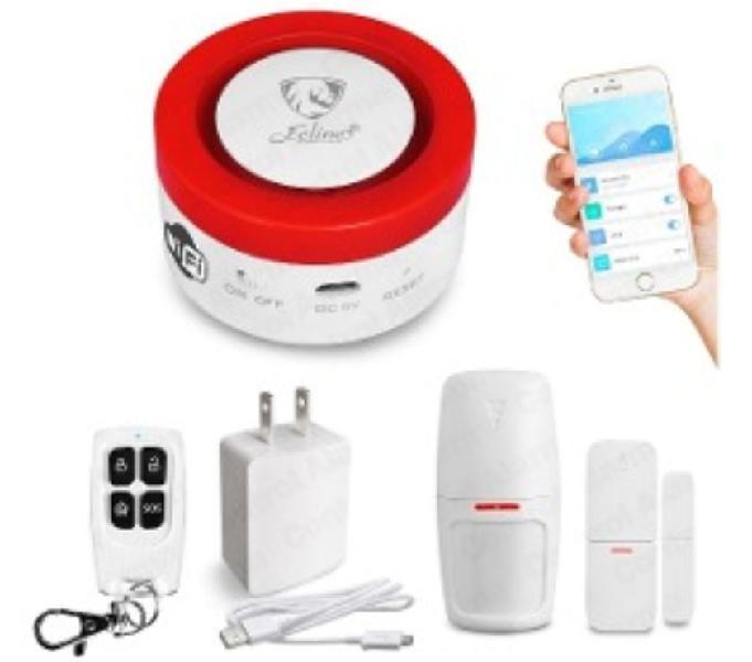 Alarma domiciliaria totalmente inalámbrica wala wifi