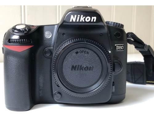 Camara nikon d80 + nikon 18-200mm + 35mm 1.8 como nueva!