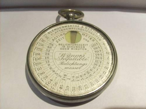Fotómetro antiguo muy raro aleman. especial coleccionistas