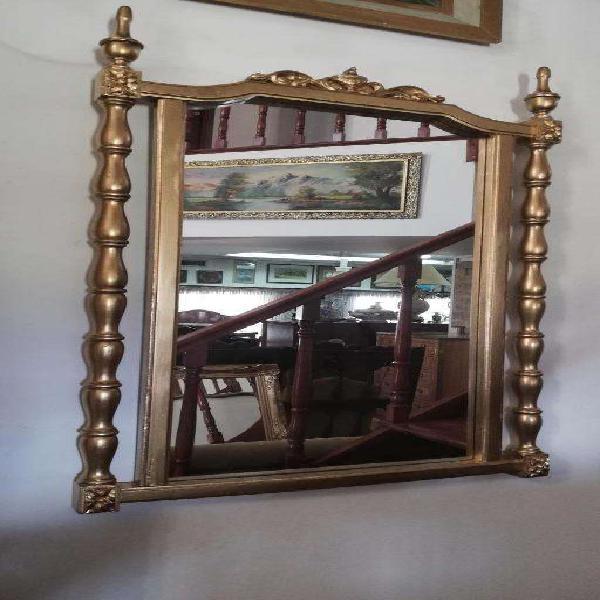 Importante espejo antiguo estilo luis xvi