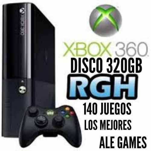 Juegos rgh xbox 360 140 juegos más disco 320gb freestyle