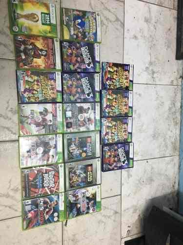 Lote juegos originales xbox 360 nuevos y usados. 22 juegos