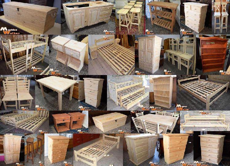 Muebles de pino nuevos