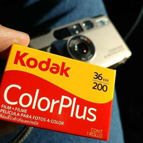 Película film rollo 35mm color kodak x36 exp x200 asas