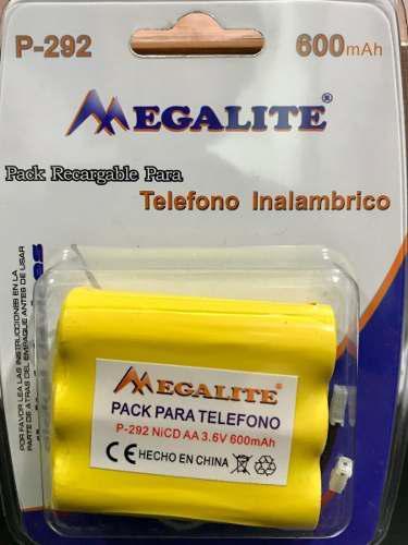 Bateria p-292 para telefono inalamb 3.6v 600 mah 3 aa local