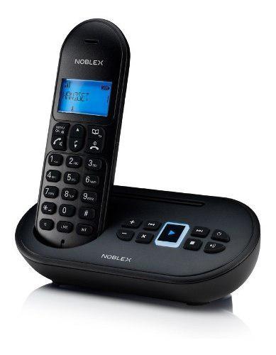 Noblex ndt4500 telefono inalambrico c/contestador automatico