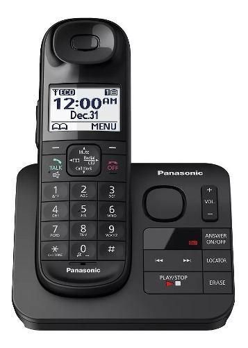 Panasonic kx-tgl430 telefono c/ contestador caller id x voz