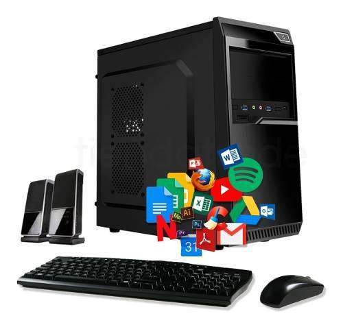 Pc cpu nueva computadora escritorio armada disco ssd