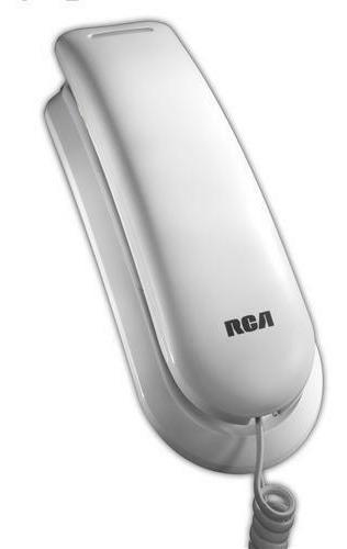 Telefono de pared rca 1121-1wtga para hipoacusicos