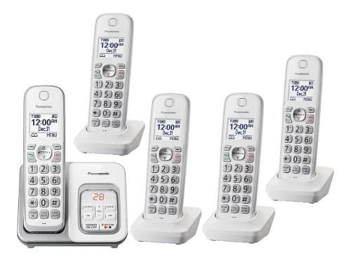 Telefono inalambrico panasonic kx-tgd535 contestador 5handys