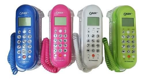 Telefono mesa cask gondola kx-t0106 con identificador