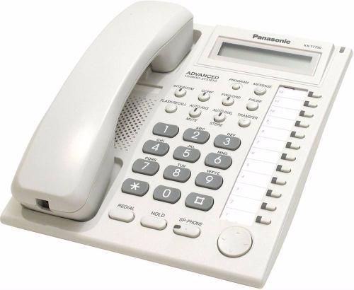 Telefono panasonic kx-t7730x programador conmutador