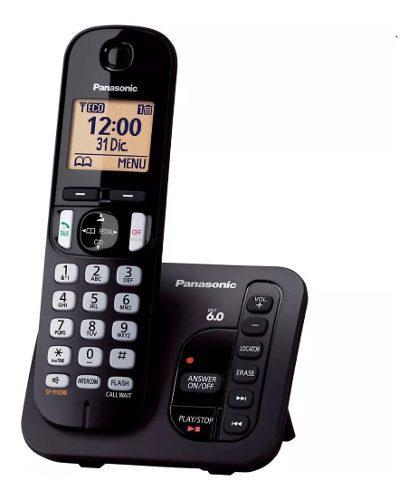 Teléfono inalambrico panasonic kx-tgc220agb contestador
