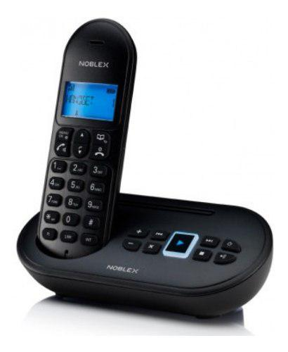 Teléfono inalámbrico noblex ndt4500 contestador